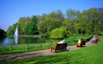 Королевские сады и парки Лондона