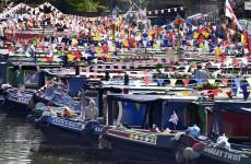 Canalway Cavalcade — лодочный фестиваль в мае