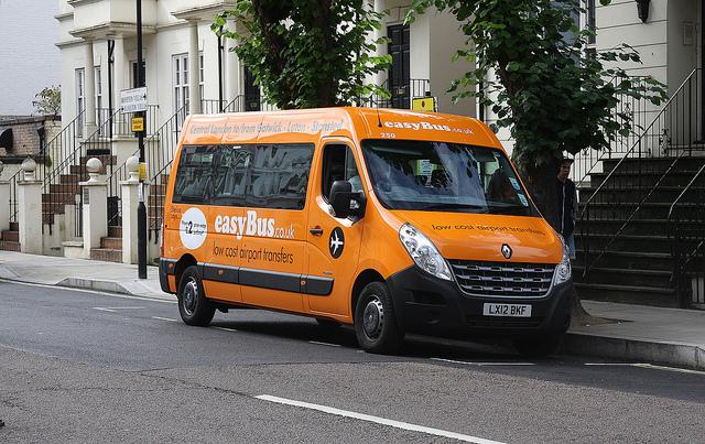 на easybus в лондон из аэропорта гатвик