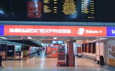 Из аэропорта Гатвик в Лондон