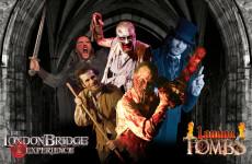 London bridge experience — комната страха