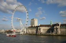 London Eye — колесо обозрения