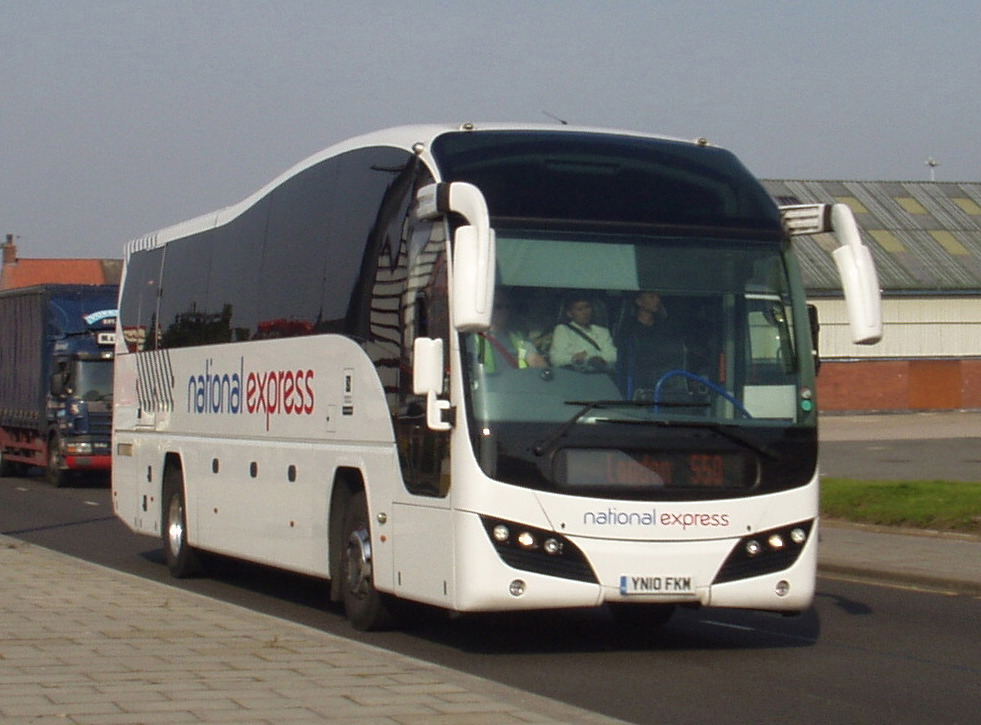 автобус National Express из гатвика в Лондон