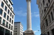Монумент (The Monument) — память о Великом пожаре