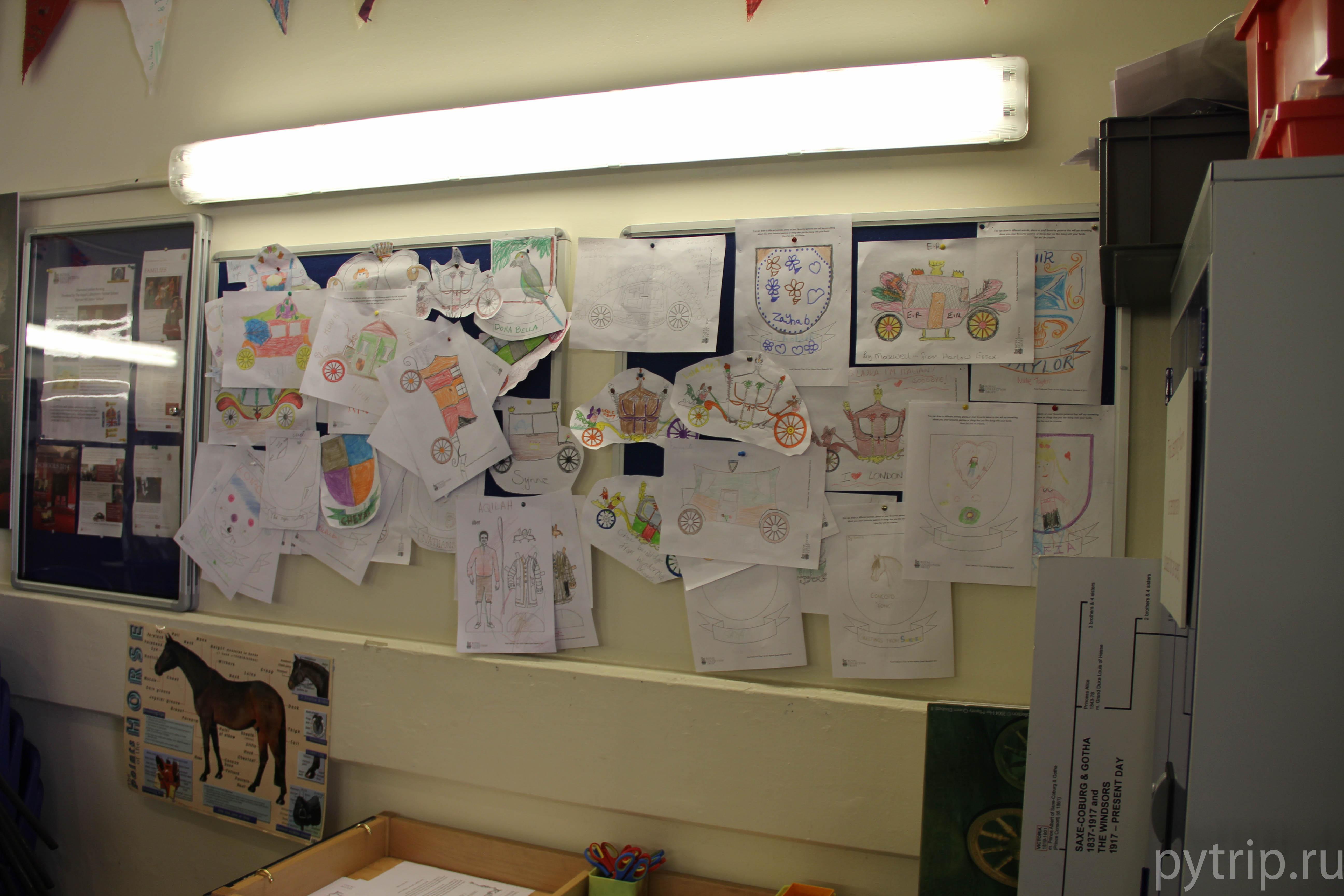Детская комната в Royal Mews