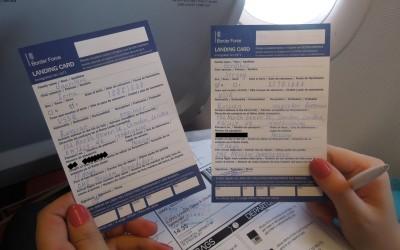 Как заполнять Landing card в Великобританию