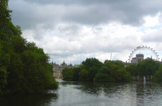 Сент-Джеймс парк в Лондоне