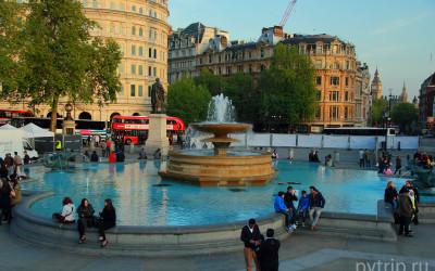 Трафальгарская площадь — сердце Лондона