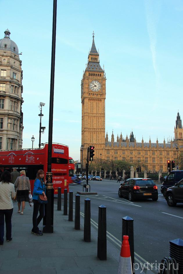 Фото Биг-Бена в Лондоне