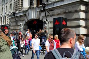 Вход в London Dungeon