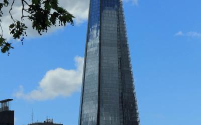 The Shard — высочайшая точка Лондона