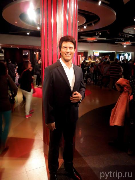 Том Круз в Музее Тюссо фото