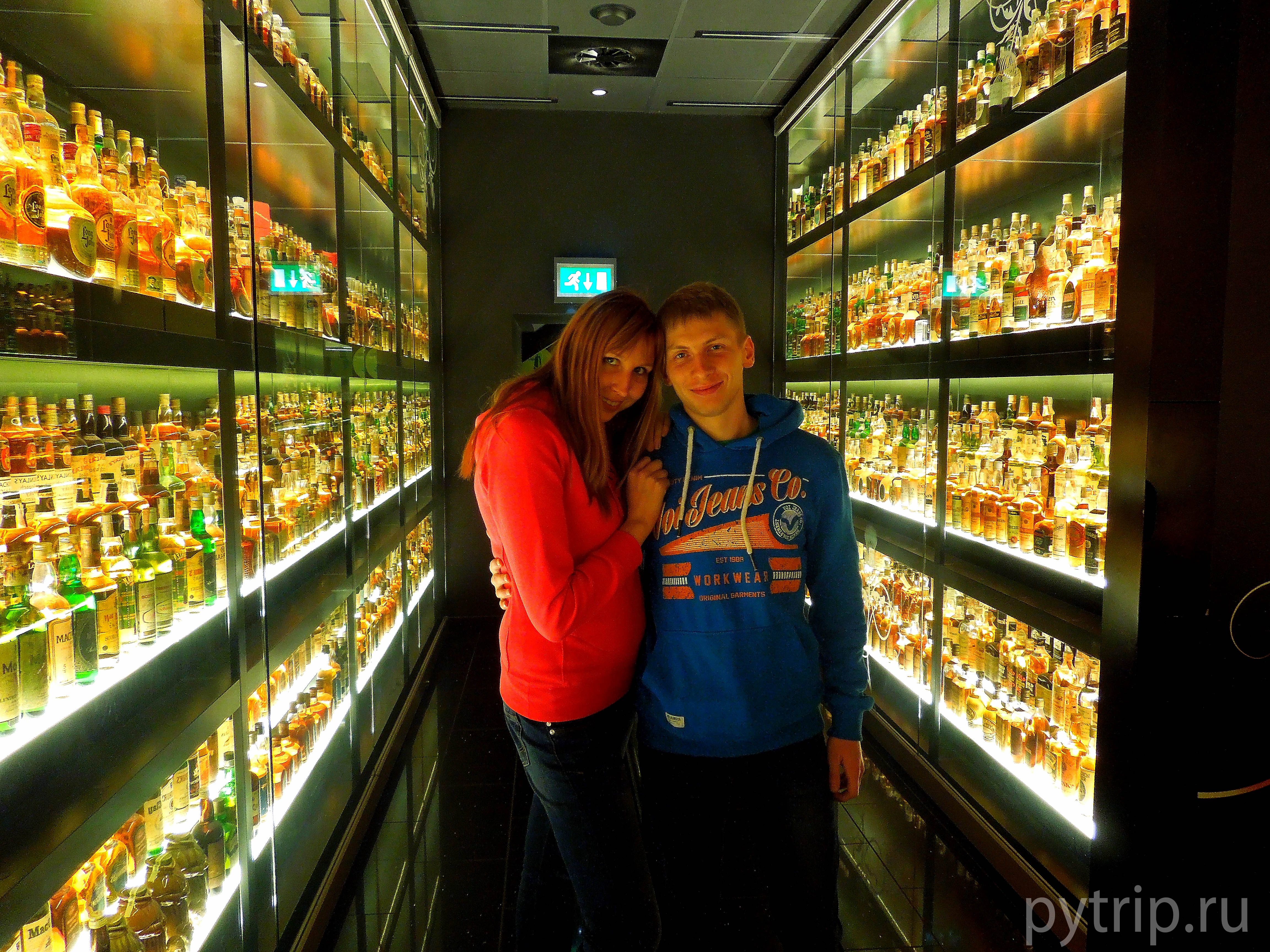 Мы в музее виски