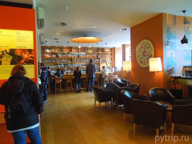Ресторанчик в музее виски.