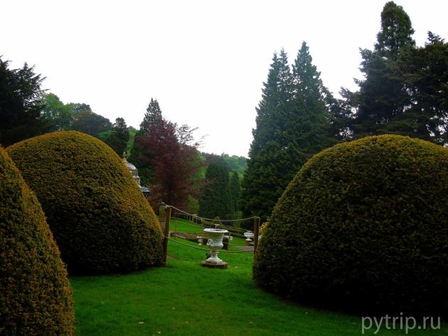 Ухоженные садовые фигуры