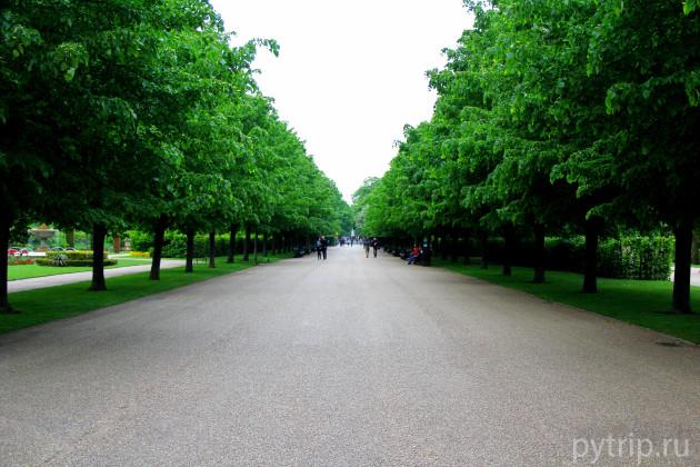 Аллеи в Ридженс парке.