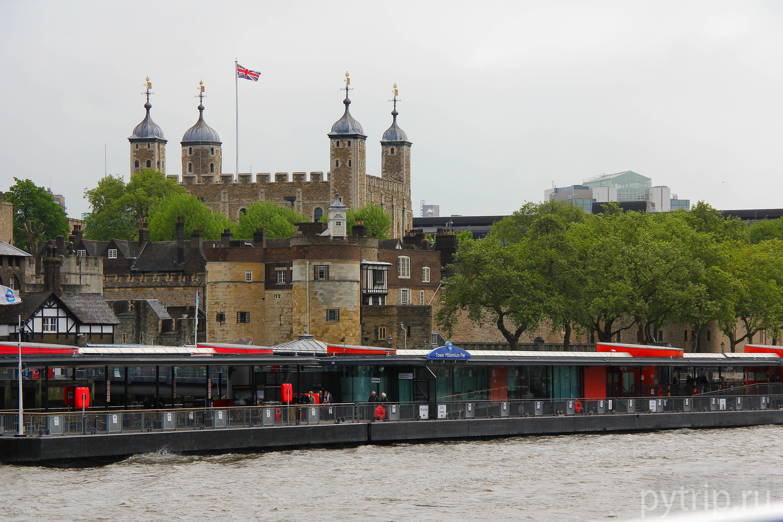 Знаменитый Лондонский Тауэр