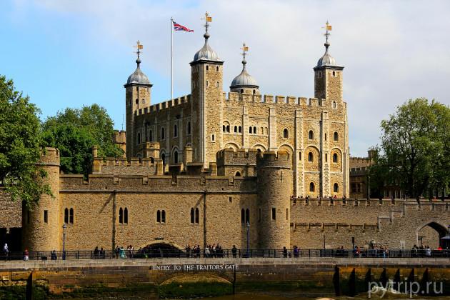 Тауэр - древнейшая крепость Лондона