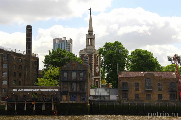 экскурсия по Темзе