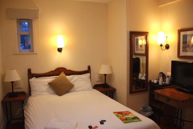 Комната из отеля, забронированного на booking.com