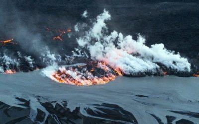 Извержение вулкана Бардарбунга в Исландии началось