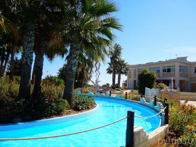 Ленивая река аквапарк Кипр