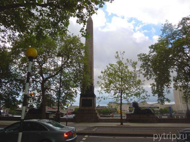 памятник на Темзе