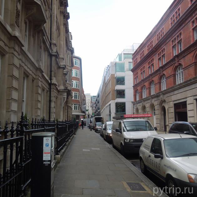 улочка Лондона