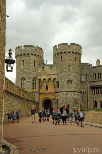 экскурсия замок виндзор