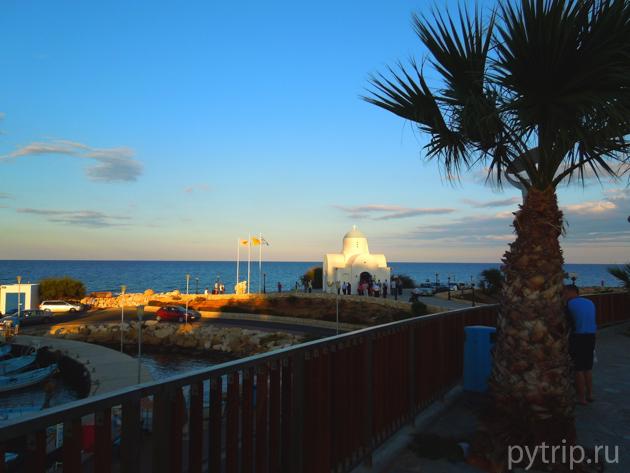 Кипр первый день
