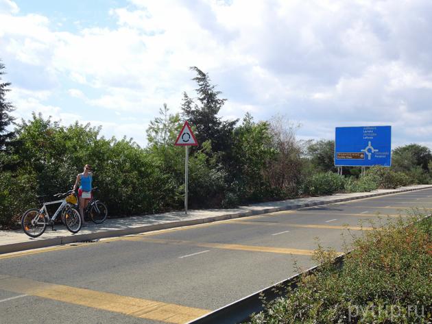 кипр велосипед
