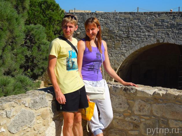 Замок Ларнаки стена