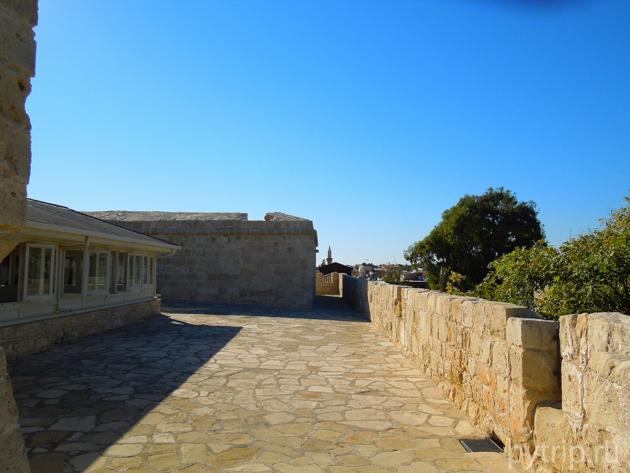крыша замка Лимассол