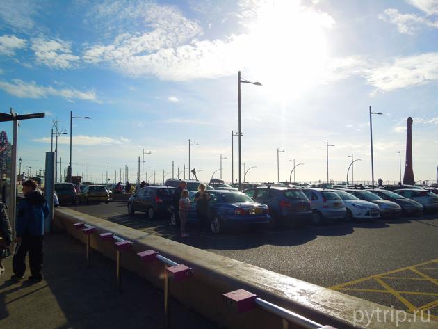 sandcastle парковка