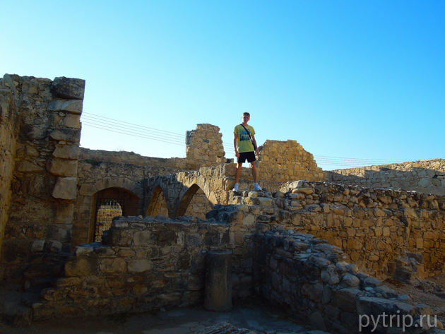 замок колосси Кипр