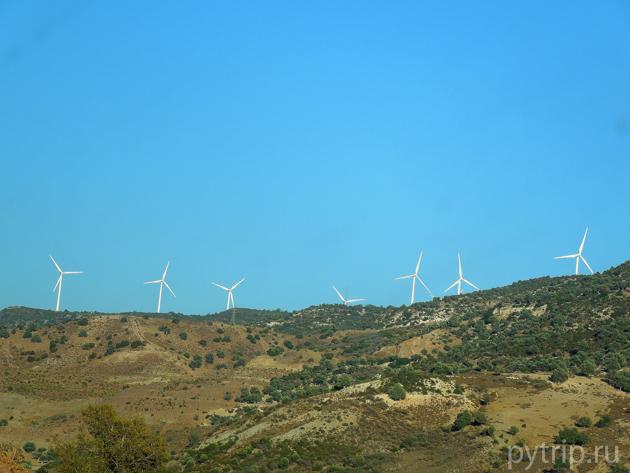 ветряки кипра