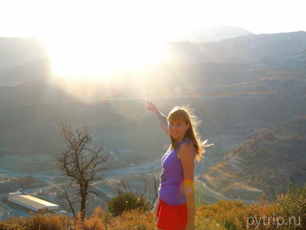 Кипр - горы и равнины