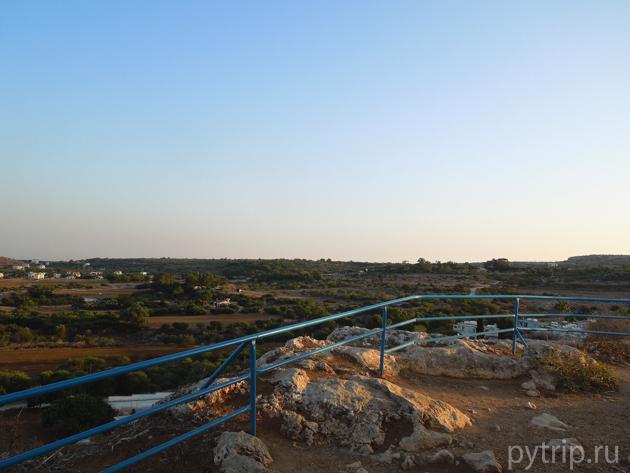 Вид с холма Протарас