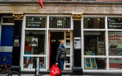 Cartoon Museum — музей Карикатуры в центре Лондона