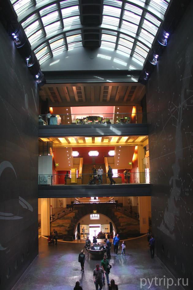 Красная зона. Одна из лучших в музее.