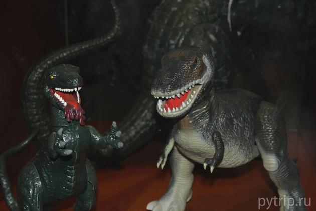 Динозавры музей естественной истории