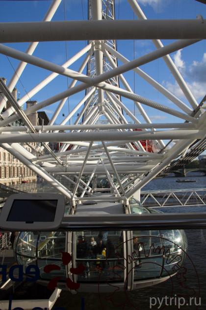 Конструкция Глаза Лондона