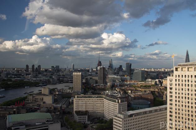 Вот он — Лондон.