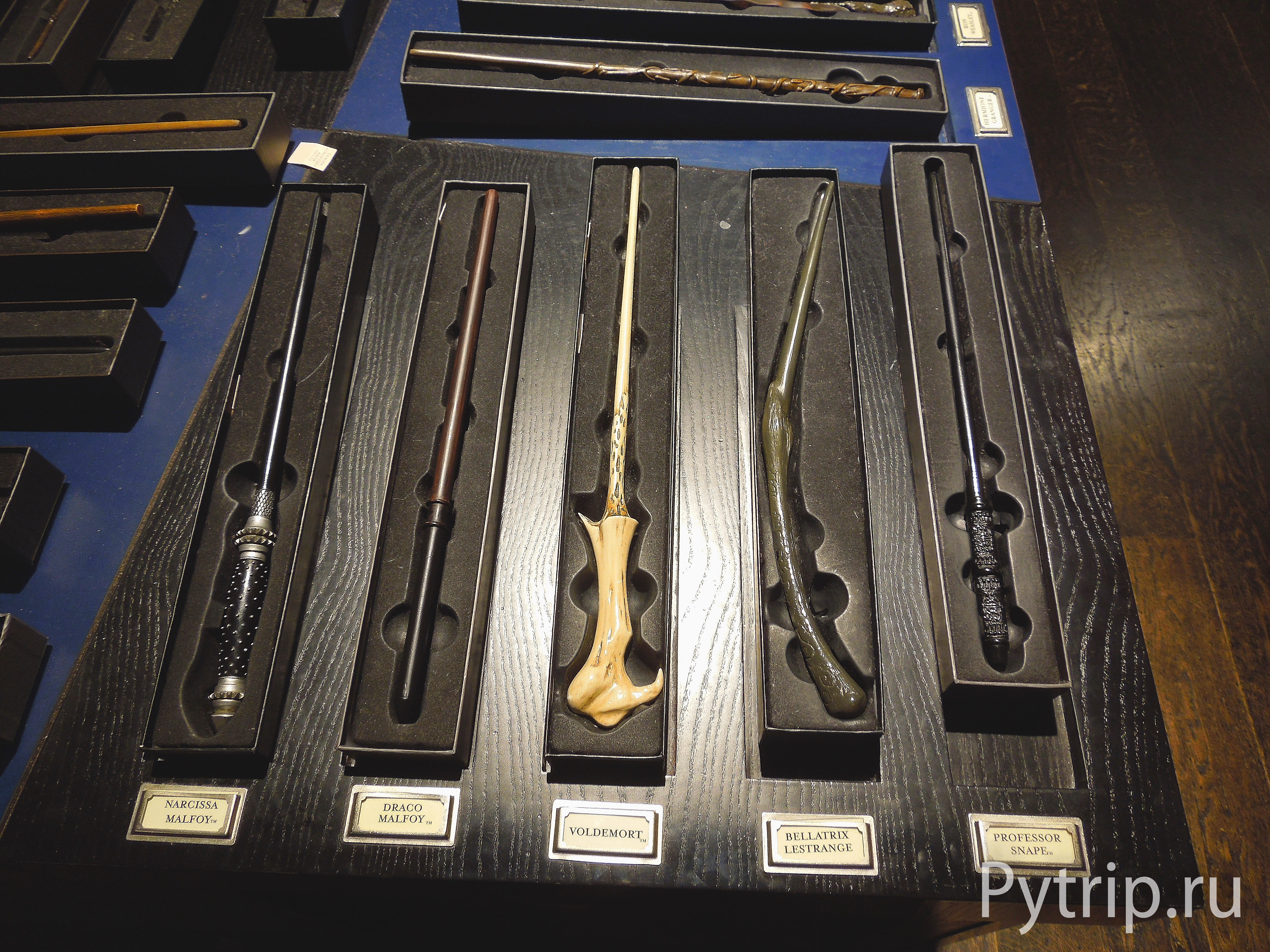 магазин студии гарри поттера палочки