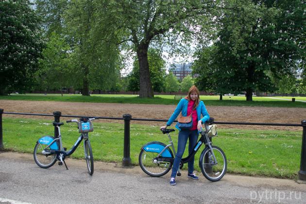 аренда велосипедов Барклайс в Лондоне