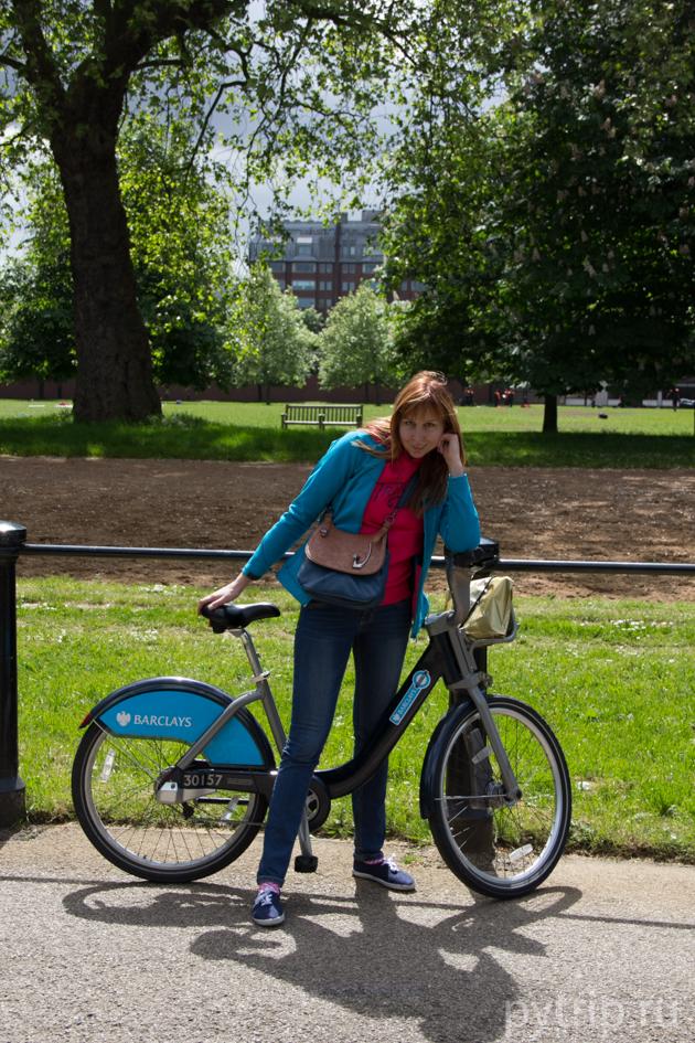 Прокат велосипедов Лондон