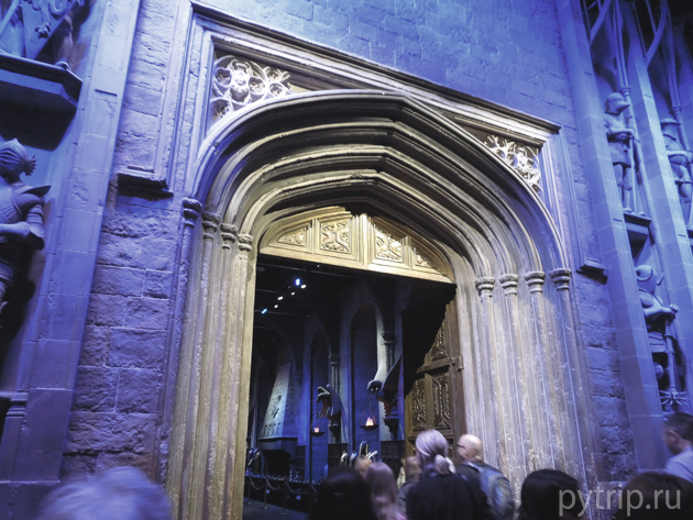 Большой зал Гарри Поттер