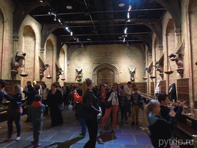 Большой зал Хогвартса
