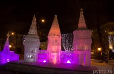 Где посмотреть ледяные скульптуры в Москве в 2017 году?