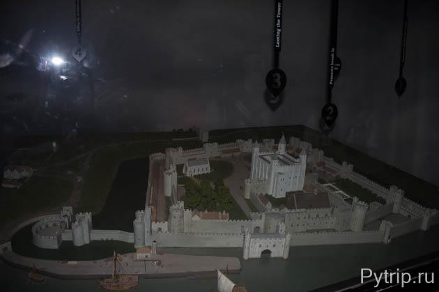 крепостные стены Тауэр